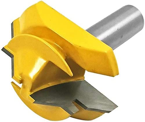 Activists 1//2 Inch Shank 45 Degree Lock Miter Router Bit 3//4 Inch Stock Joint Router Bit Lock Miter Tool