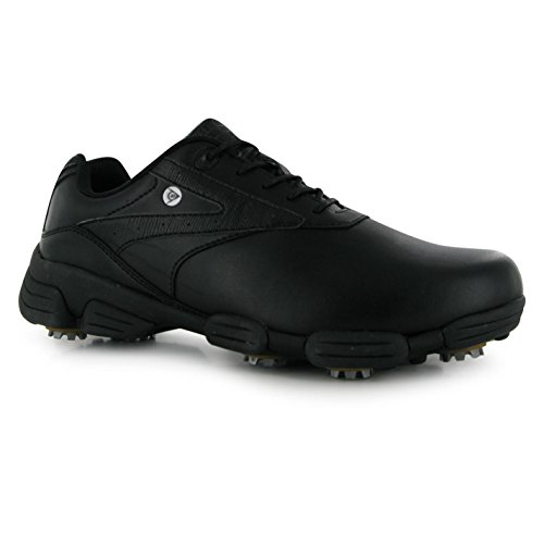 Dunlop Mens Biomimetic 100 Golf Shoes Spike Lace Up Sport...