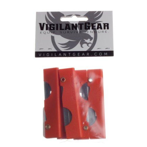 Derma-safe Folding Utility Survival Knife (5-pack) Orange, Outdoor Stuffs