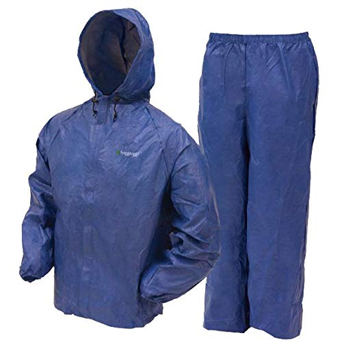 Frogg Toggs Ultra-Lite2 Waterproof Breathable Rain Suit, Youth, Blue, Size Medium -