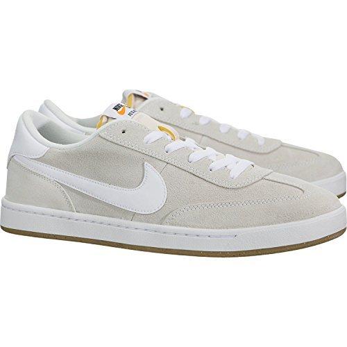 Nike Mens Sb Fc Classico Skate Shoe Summit Bianco / Vertice Bianco-bianco
