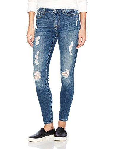 7 For All Mankind Women's Skinny Distressed Destroy Jean Ankle Pant, EVRLYLTSK, 28 (Jeans Mankind Skinny 7 All)