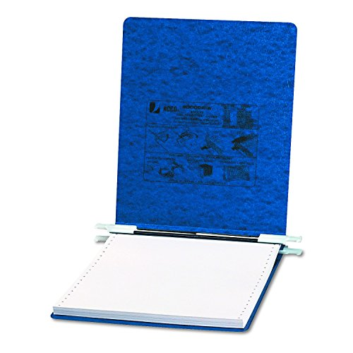 ACCO PRESSTEX Covers w/ Hooks, Unburst, 9 1/2 x 11 Sheets, Dark Blue (54113) Acco Presstex Data Binder