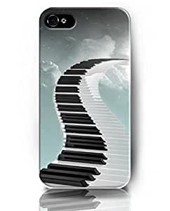 UKASE Cases for iPhone 4 4s for Special You - {Let's Music Now Theme} - Piano Keyboard on the Sky