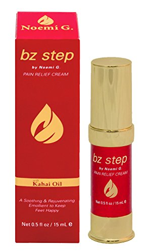 bz step - Pain Relief Cream for Tired Aching Feet with Kahai Oil