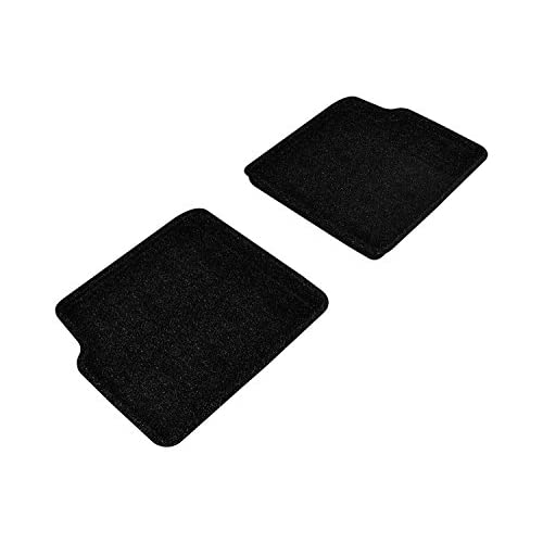 Top 3D MAXpider Second Row Custom Fit All-Weather Floor Mat for Select Chevrolet HHR Models - Classic Carpet (Black) for sale