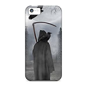 XiFu*MeiUltra Slim Fit Hard Mycase88 Cases Covers Specially Made For iphone 4/4s- Grave WatcherXiFu*Mei