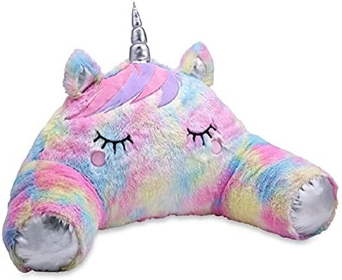 TOP TRENZ Husband or Boyfriend Pillows Furry Unicorn