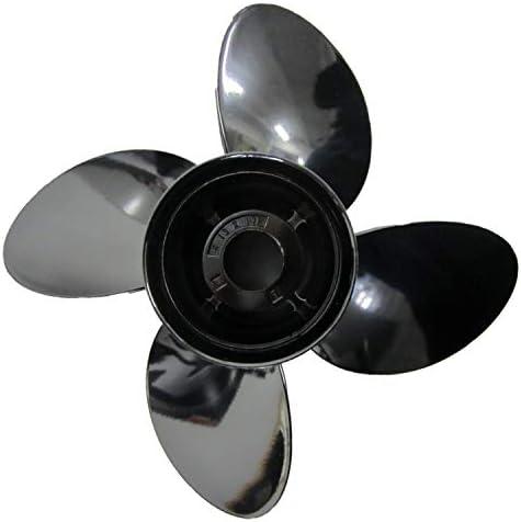 Duokon Aluminiumlegierung Au/ßenborder Propeller 8 Spline Tooth 3 Blades 683-45941-00-EL 9 1//4 x 12 Passend f/ür Yamaha 9,9-15 PS