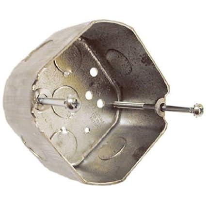 Hubbell raco 299 2 18 inch deep octagon ceiling fan electrical box hubbell raco 299 2 18 inch deep octagon ceiling fan electrical aloadofball Images
