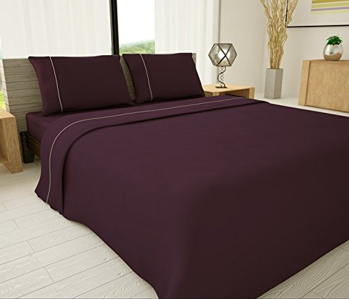 Novelty Bedding 625 Thread Count Egyptian Cotton Blend Solid