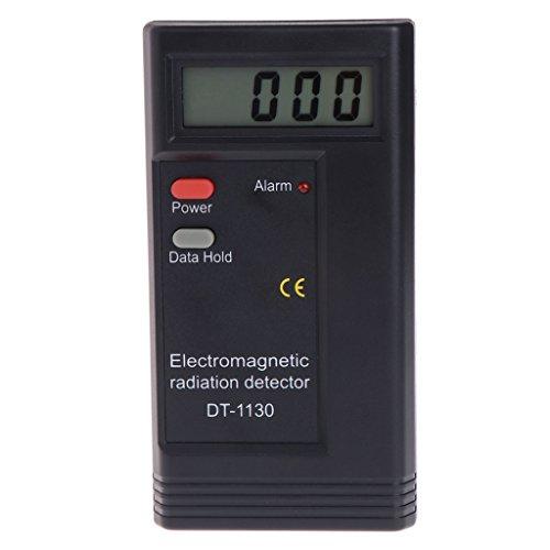 Kangnice Electromagnetic Radiation Detector LCD Digital EMF Meter Dosimeter Tester DT1130