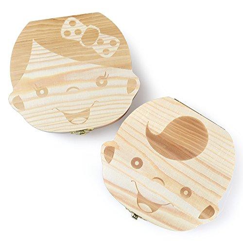 Eteng Tooth Storage Keepsake Wooden product image