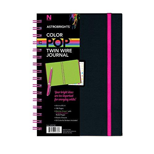 Astrobrights Twin Wire Journal, 6.5