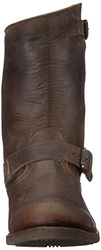 Frye Mens Stone Engineer Boot Espresso Lucido Stonewash - 88028