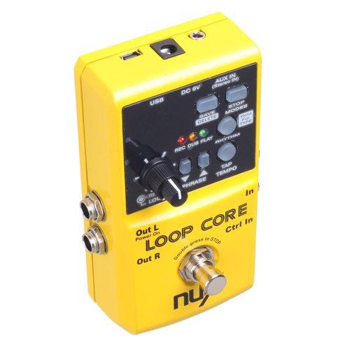 Nux Loop Core Guitar Effect Pedal 40 Built-in Drum Patterns 99 User Memories