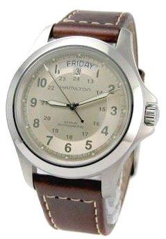 Hamilton-Khaki-Field-King-Automatic-Beige-Dial-Mens-Watch-H64455523