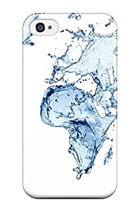 Kishan O. Patel's Shop New Arrival Premium Iphone 4/4s Case(water World Map) hjbrhga1544