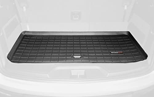 WeatherTech Custom Fit Cargo Liners for GMC Acadia Black BEHIND 3rd ROW 40411