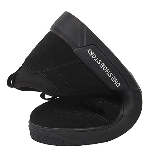 Sitaile Uomo Leggero Scarpe Da Skate Athletic Fashion Sport Outdoor Running Walking Sneakers Da Skateboard Grigio