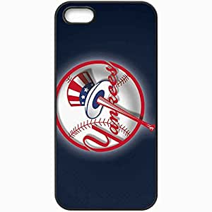 Personalized iPhone 5 5S Cell phone Case/Cover Skin 15142 mlb yankees by gerem d2zxuiu Black