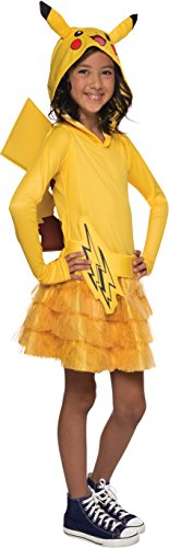 Rubie's Costume Pokemon Pikachu Child Hooded Costume Dress Costume, Small - Zombie Zoo Keeper Costume