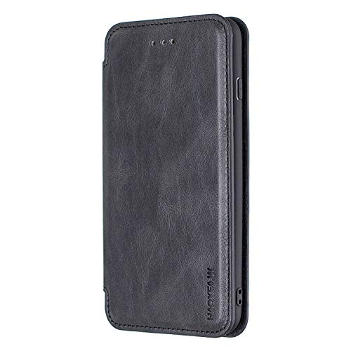 Flip Case for Samsung Galaxy S10 Leather Premium Business Card Holders Kickstand Wallet Cover with Free Waterproof-Bag