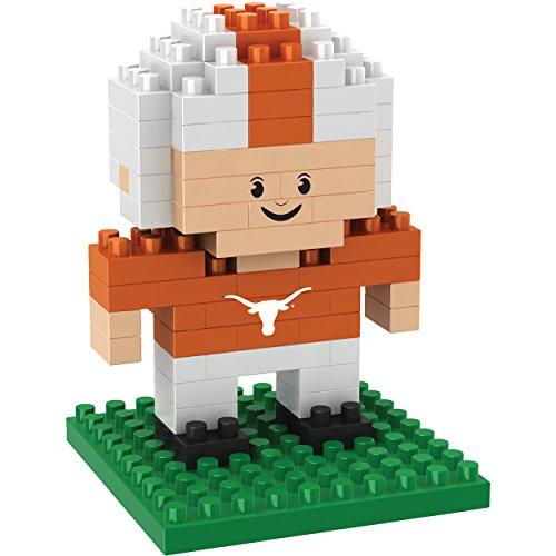 NCAA Texas Longhorns Mini BRXLZ Player Building Blocks, One Size, Orange