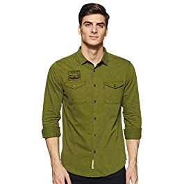 Buy Amazon Brand Denim Casual Shirt For Men India 2021