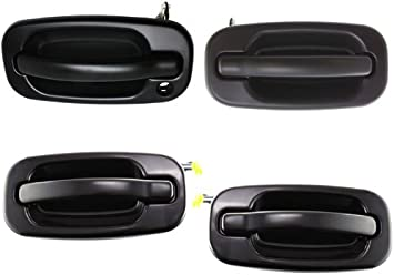 Amazon Com Replacement For Tahoe Yukon Sierra Denali Xl 1999 2007 Front Rear Right Left Outer Paint Able Door Handle Set Automotive