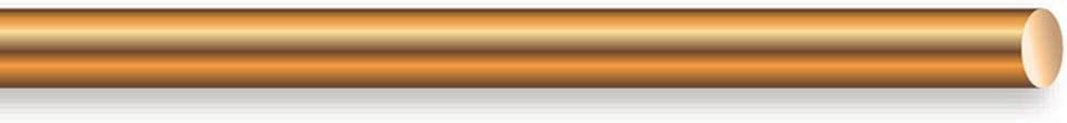 Cerrowire 050-2000A 25-Feet 8 Gauge Bare Solid Copper Wire