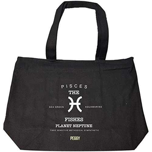 Peggy I Am Pisces The Fishes - Woman - Tote Bag With Zip