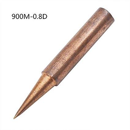 BUPADEALER 900M 0.8D - Soldador de cobre puro para Hakko 936 FX-888D Saike