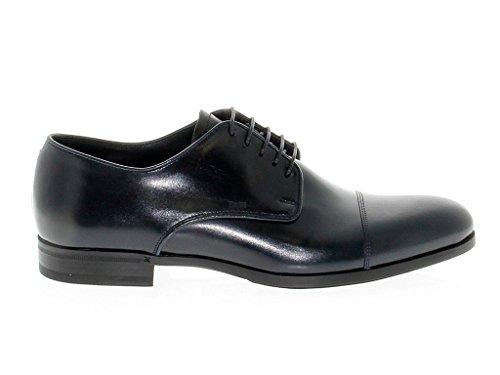 Fabi Zapatos de Cordones Para Hombre Azul Azul It - Marke Größe