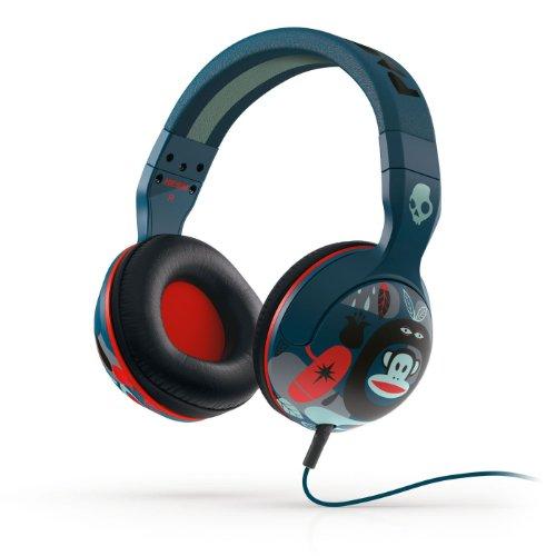 Candy Frank - Skullcandy Unisex CE Hesh 2.0 Paul Frank Navy/Red Headphones
