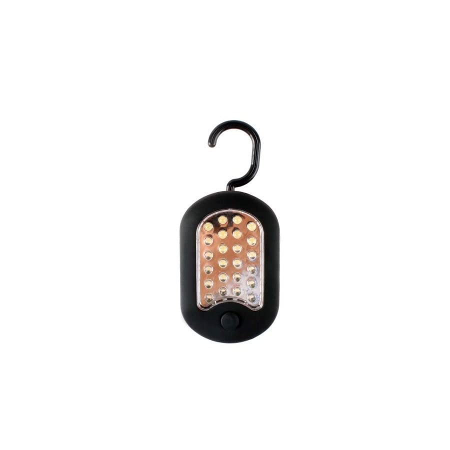 HUAJI 27 LED Work Light Hook Hanging Light Flashlight with 2 Light Modes