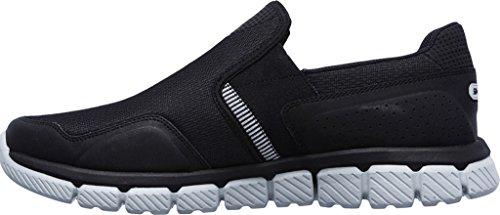 Skechers Sport Mens Flex 2.0 Slip-On Loafer Black/Gray 7IjMKj