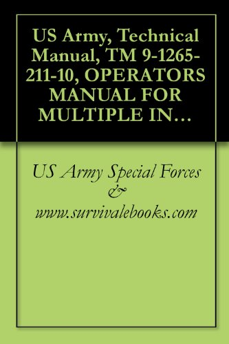 US Army, Technical Manual, TM 9-1265-211-10, OPERATOR'S MANUAL FOR MULTIPLE INTEGRATED LASER ENGAGEMENT SYSTEM (MILES) SIMULATOR SYSTEM, FIRING, LASER: ... M249, SQUAD AUTOMATIC WEAPON (SAW), 1989 (M249 Saw Squad Automatic Weapon)