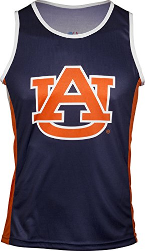 - Adrenaline Promotions NCAA Auburn Tigers RUN/TRI Singlet, Blue, X-Large