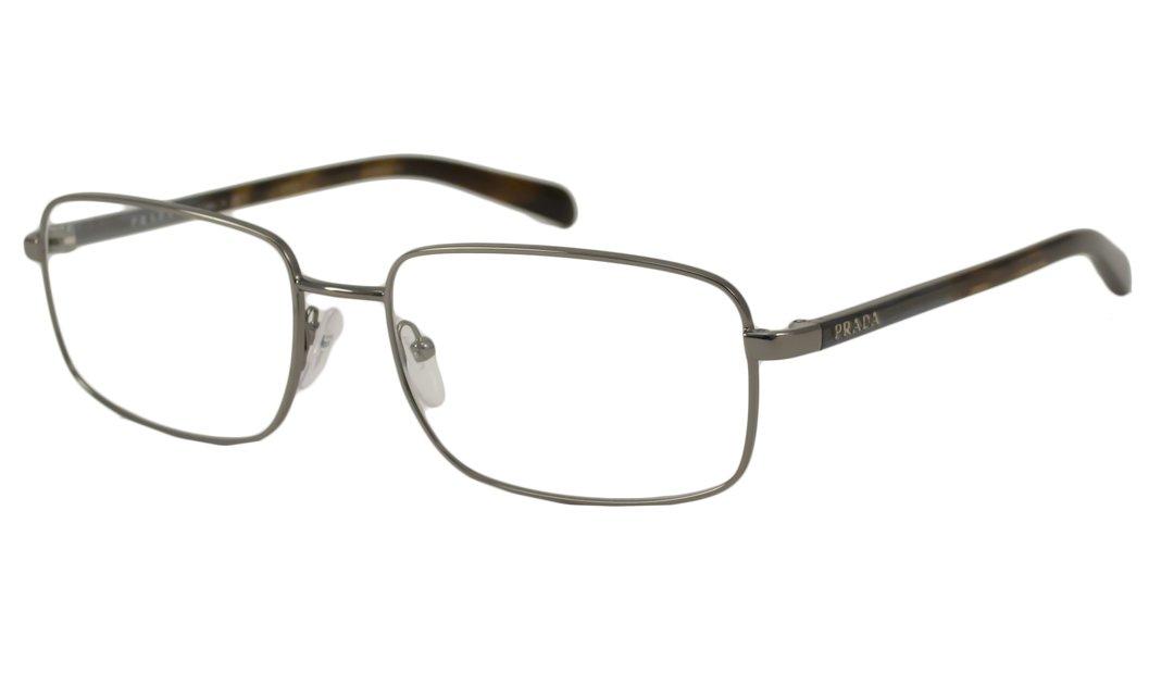 db41a7251b Amazon.com  Prada Readers Reading Glasses Reading Glasses - PR51NV Gunmetal     Health   Personal Care