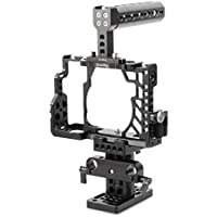SmallRig Camera Cage Accessories Kit for Sony A7/ A7S/ A7R Digtial Camera with Top Handle, HDMI Cable Clamp and Arca Baseplate - 2011