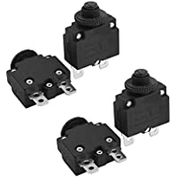 XMHF HS-R01 15A 125/250V AC50/60Hz Thermal Overload Protector 4Pcs