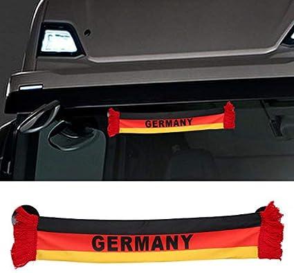 Amazon.es: TRUCK DUCK® Camiones Auto Alemania Alemania Mini - Banderín Bandera ventosa Espejo decorativo, 45x8cm