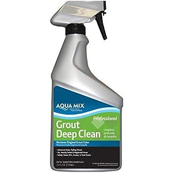Aqua Mix Heavy Duty Tile And Grout Cleaner Quart Floor