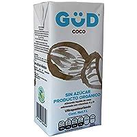 GÜD Alimento Líquido de Coco sin Azúcar Ultrapasteurizado, 1 L