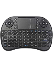 Mini Wireless Keyboard - 2.4GHz Controller with Touchpad Mouse Combo by TV xStream, Compatible with Android TV Box, IPTV, HTPC, Smart TV, PC, X-Box,etc.