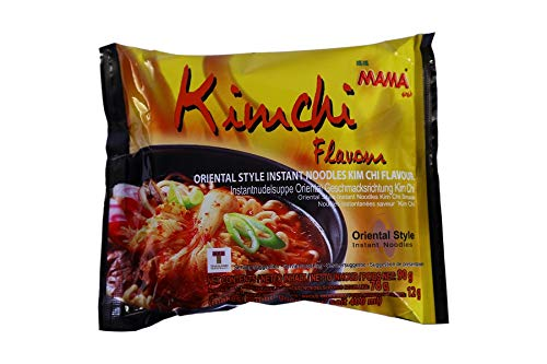 MAMA Instant Noodles Kimchi (Pack of 5)