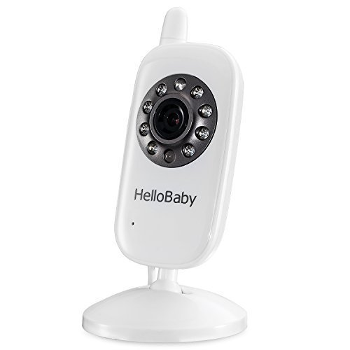 HelloBaby Additional Camera Child Unit Add-on Camera for HB32 HB28 HB24 Video Baby Monitor by HelloBaby