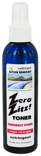 WELLINHAND ACTION REMEDIES ZERO ZITZ ASTRGNT EMRGNCY, 6 FZ