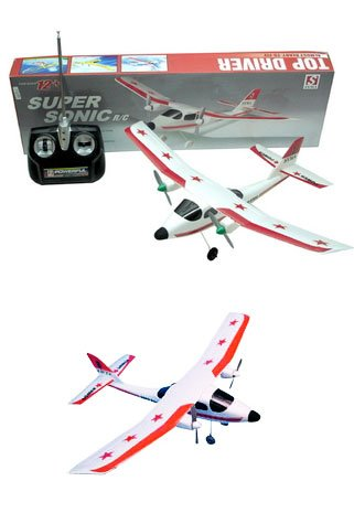 2-Channel RC Super Sonic Radio Control - Airplane Sonic